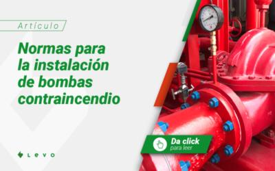 ¿Sabías que Ecuador tiene normas para la instalación de bombas contra incendio?